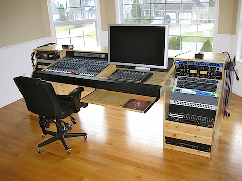 studio console installed wabbit wavings. Black Bedroom Furniture Sets. Home Design Ideas