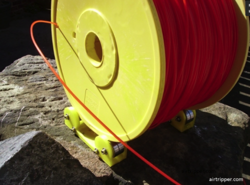 Airtripper s Pocket Filament Reel Rollers by Airtripper  Thingiverse 2016 05 19 15 59 11