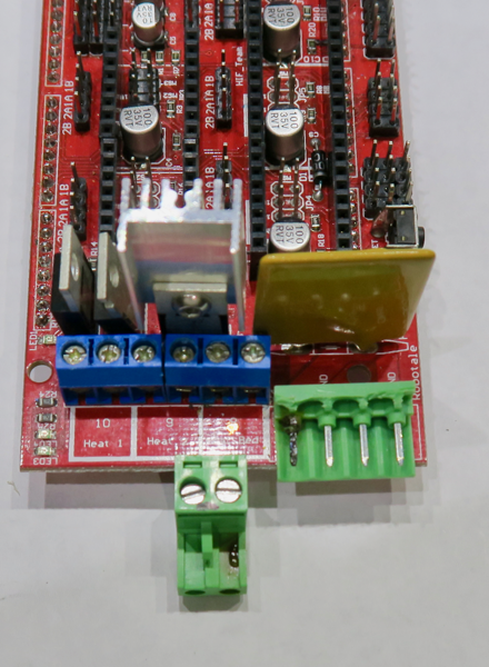 Mos Tube High Current Load Module Heatbed Power Module Humble New 3d Printer Hot Bed Power Expansion Board